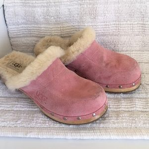 Ugg Size 7 Pink Clogs